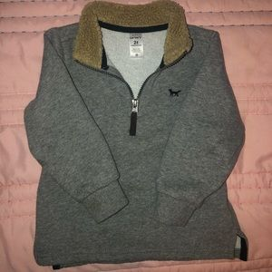 Carter's 2t Charcoal Gray Sweater